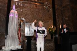 Richard Branson lors d'une conférence de presse à Manhattan