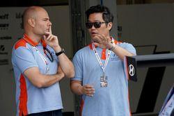 Membri del team Hyundai Motorsport
