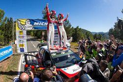 Ganadores, Kris Meeke, Paul Nagle, Citroën C3 WRC, Citroën World Rally Team
