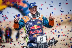 Le vainqueur moto, #6 Red Bull KTM Factory Racing KTM: Matthias Walkner