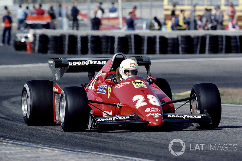 1983 год: Рене Арну, Ferrari