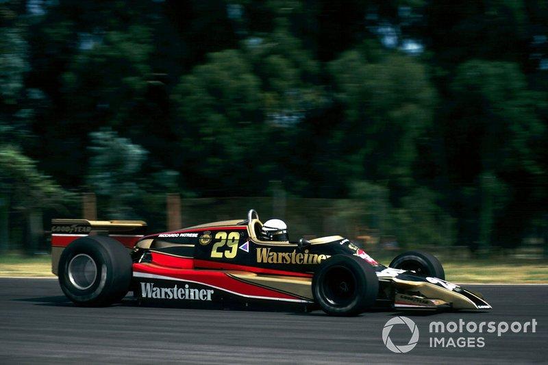 Riccardo Patrese, Arrows A1