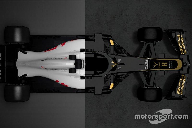 Comparaison entre la Haas VF-18 et la Haas VF-19