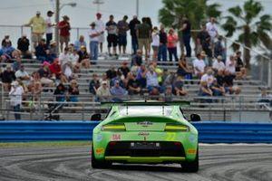 #22 TA4 Aston Martin driven by Steven Davison of Automatic Motorsports