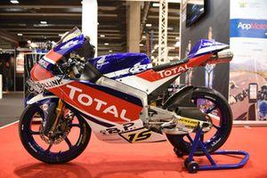 Nuova livrea della Honda NSF250RW del Junior Team Total Gresini Moto3