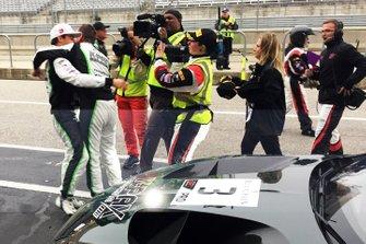 Race Winners #3 Rodrigo Baptista and Maxime Soulet, K-PAX Racing, Bentley Continental GT3