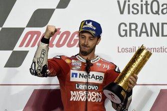 Подиум: Андреа Довициозо, Ducati Team