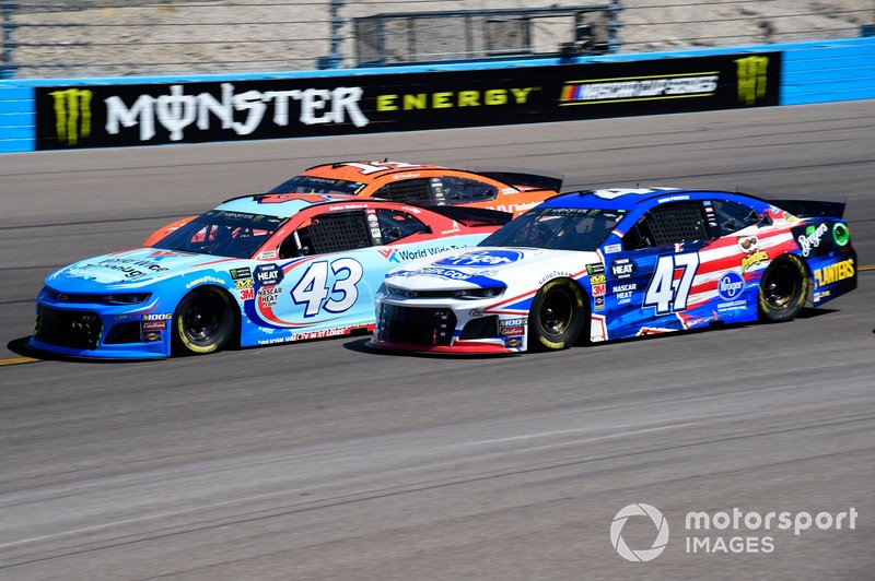 Darrell Wallace Jr., Richard Petty Motorsports, Chevrolet Camaro World Wide Technology, Ryan Preece, JTG Daugherty Racing, Chevrolet Camaro Kroger