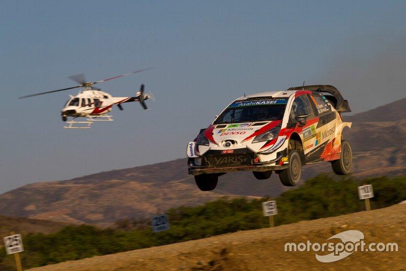 Отт Тянак. Мартин Ярвеоя, Toyota Racing, Toyota Yaris WRC