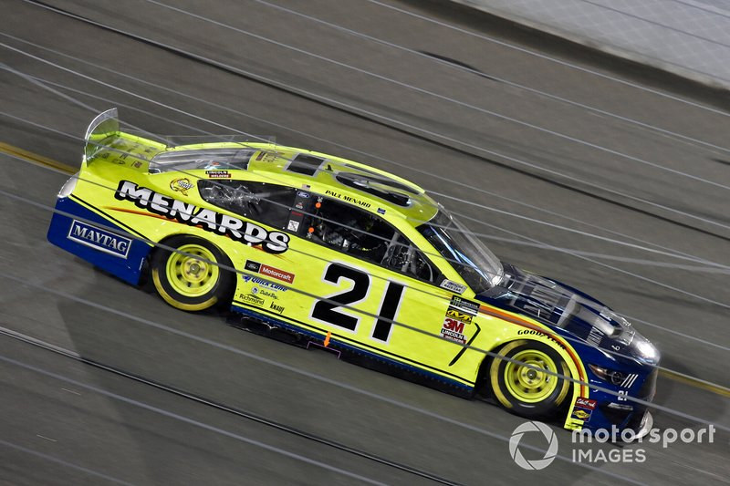 10. Paul Menard, Wood Brothers Racing, Ford Mustang