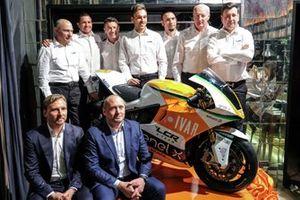 Präsentation LCR E-Team mit Randy de Puniet, Niccolo Canepa und Lucio Cecchinello