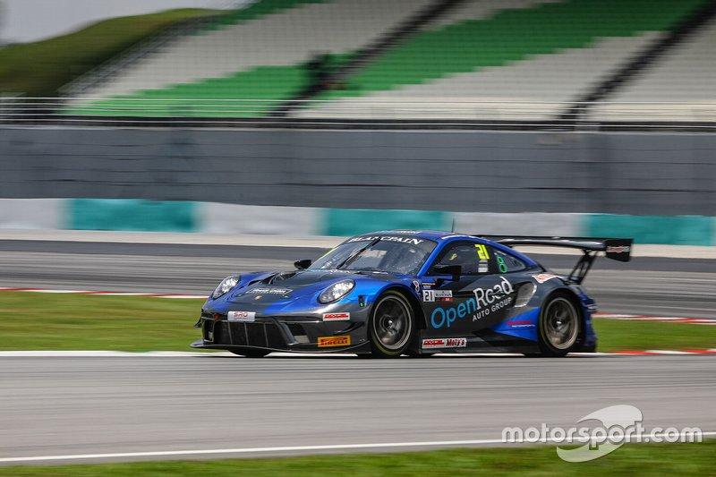 #21 OpenRoad Racing Porsche 911 GT3 R: Francis Tjia, Michael Soeryadjaya