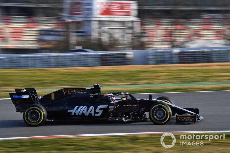 9. Romain Grosjean, Haas F1 Team VF-19, 1 menit 17,076 detik (kompon C5, hari-8)