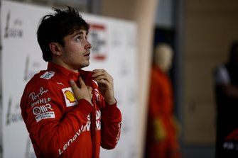 3. sıra Charles Leclerc, Ferrari, Parc Ferme
