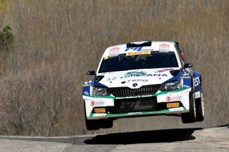 Corrado Pinzano, Marco Zegna, Skoda Fabia R5, Eurospeed