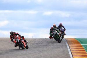 Chaz Davies, Aruba.it Racing-Ducati Team, Leon Haslam, Kawasaki Racing