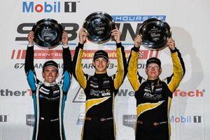 #38 Performance Tech Motorsports ORECA LMP2, LMP2: Kyle Masson, Cameron Cassels, podium