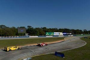 #31 Whelen Engineering Racing Cadillac DPi, DPi: Felipe Nasr, Pipo Derani, Eric Curran, #84 JDC-Miller Motorsports Cadillac DPi, DPi: Simon Trummer, Stephen Simpson, Chris Miller