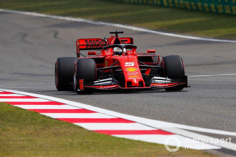 3. Себастьян Феттель, Ferrari SF90, 1:31.848