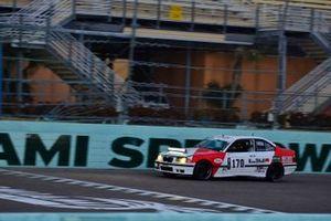 #170 MP3B BMW 328 driven by Sebastian Carazo & Rhamses Carazo of TLM USA