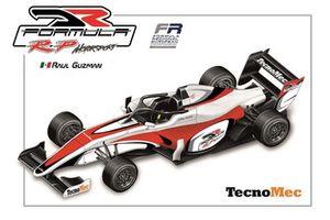 Rendering della monoposto di Raul Guzman, DR Formula by RP Motorsport