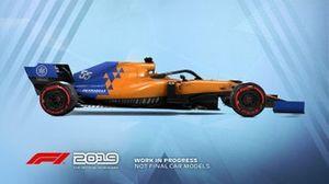 F1 2019 MLaren livery