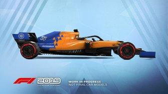 Livrée McLaren dans F1 2019