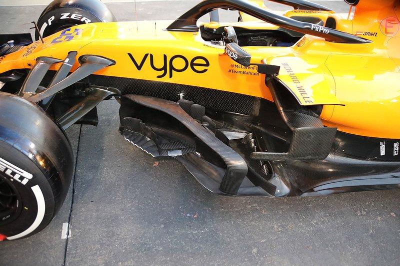 Bargeboard del McLaren