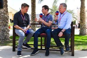 Simon Lazenby, Sky TV, Anthony Davidson, Sky TV, Johnny Herbert Sky TV