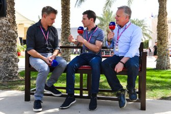 Simon Lazenby, Sky TV, Anthony Davidson, Sky TV, Johnny Herbert Sky TV