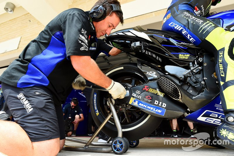 Mechanic of Valentino Rossi, Yamaha Factory Racing