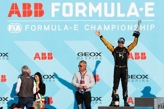 Andre Lotterer, DS TECHEETAH, 2nd position, celebrates on the podium
