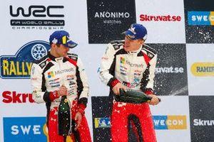 Winners Ott Tänak, Martin Järveoja, Toyota Gazoo Racing WRT