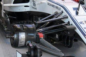 Detalle del Alfa Romeo Racing C38