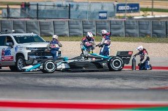 Колтон Херта, Harding Steinbrenner Racing Honda остановился на трассе