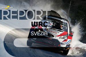 Copertina Report Rally di Svezia