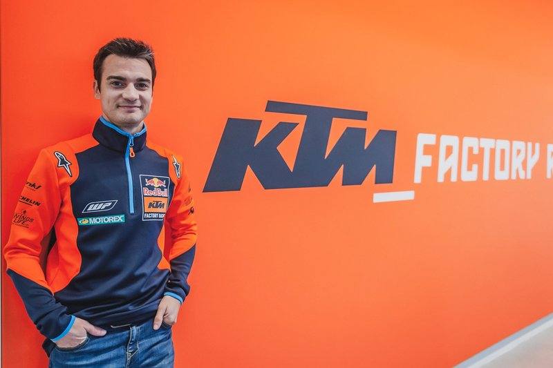Dani Pedrosa, tester Red Bull KTM Factory Racing