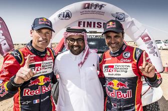 ناصر العطية يفوز برالي قطر كروس كانتري