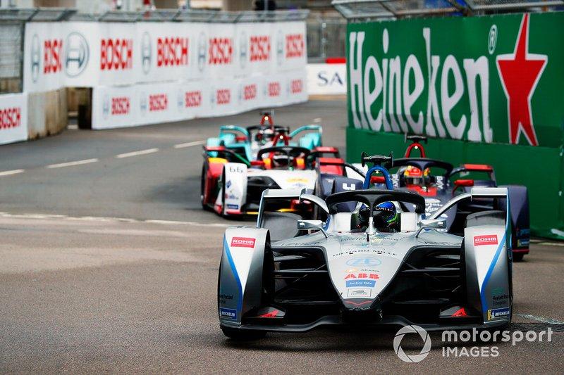 Фелипе Масса, Venturi Formula E, Venturi VFE05, и Робин Фрейнс, Envision Virgin Racing, Audi e-tron FE05