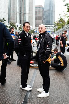 Ivan Yim, DS TECHEETAH Managing Director, Edmund Chu, DS TECHEETAH President on the grid