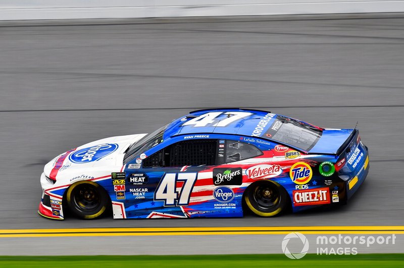 21. Ryan Preece, JTG Daugherty Racing, Chevrolet Camaro