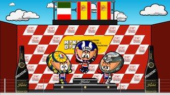 El GP de Valencia de 2009, según MiniBikers