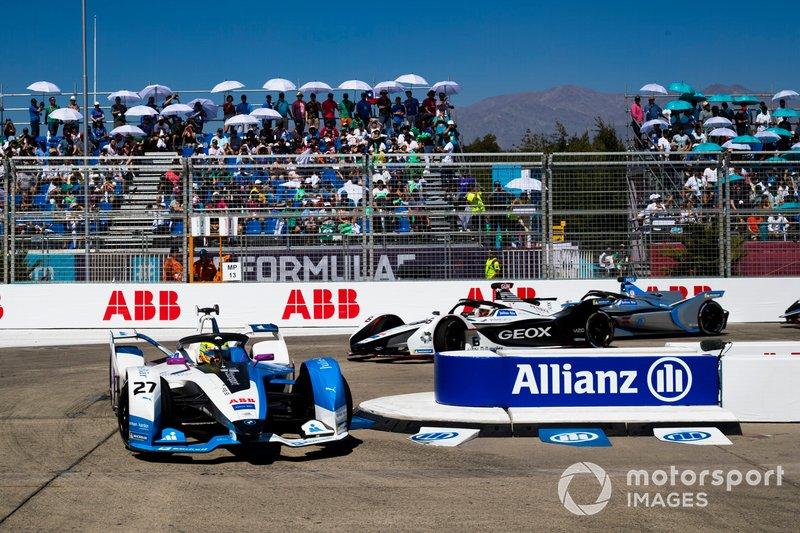 Alexander Sims, BMW i Andretti Motorsport, BMW iFE.18 Maximilian Günther, Dragon Racing, Penske EV-3, Felipe Massa, Venturi Formula E, Venturi VFE05
