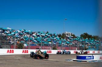 Andre Lotterer, DS TECHEETAH, DS E-Tense FE19 Nelson Piquet Jr., Jaguar Racing, Jaguar I-Type 3, Felipe Massa, Venturi Formula E, Venturi VFE05