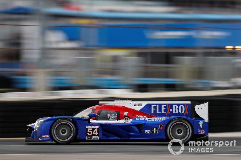 4. #54 CORE autosport Nissan DPi, DPi: Jonathan Bennett, Colin Braun, Romain Dumas, Loic Duval
