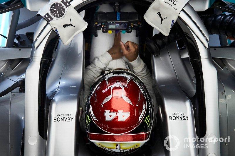 Льюис Хэмилтон, Гран При Бахрейна-2019