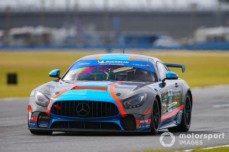 #46 Team TGM Mercedes-AMG, GS: Owen Trinkler, Hugh Plumb