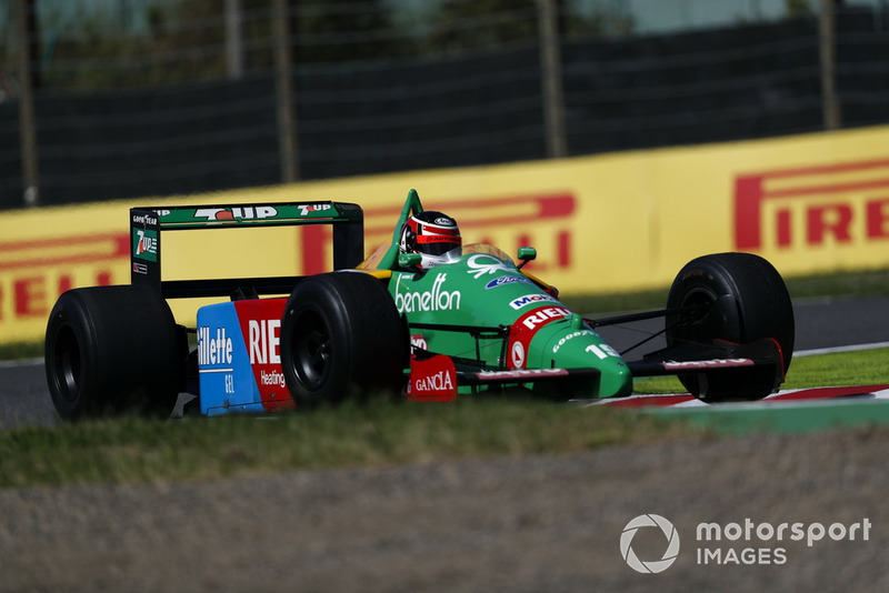 Агури Сузуки, Benetton B188 Ford, демонстрационные заезды Legends F1 30th Anniversary