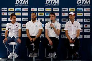Press Conference, Marco Wittmann, BMW Team RMG, Gary Paffett, Mercedes-AMG Team HWA, Paul Di Resta, Mercedes-AMG Team HWA, René Rast, Audi Sport Team Rosberg