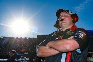 Ryan Fugle crew chief for Noah Gragson, Kyle Busch Motorsports, Toyota Tundra Safelite AutoGlass